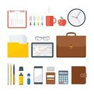Symbol,Computer Icon,Infographic,Isolated,Sign,Computer Graphic,Equipment,Ideas,Illustration,Flat,Data,Desk,Personal Accessory,Document,Briefcase,Backgrounds,Looking At View,Pen,Calculator,Telephone,Digitally Generated Image,Flash,Cup,Mobile Phone,Pencil,White,Single Object,Design,Work Tool,Vector,Macro,Set,Group of Objects,Design Element,Business,template,Modern,Table,Greeting Card,Working,Calendar,Driving,Computer,Office,Digital Tablet,Coffee - Drink,On Top Of
