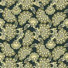 Seamless,Vector,Old-fashioned,Decoration,Flower,Backgrounds,Pattern,Floral Pattern
