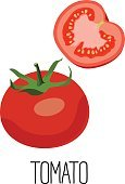Illustration,Ingredient,Symbol,Computer Icon,Freshness,Healthy Eating,Remote,Isolated,Vector,Vegetarian Food,Slice,Red,Organic,Food,Dieting,Ripe,Part Of,Sweet Food,Vegan Food,Vitamin,Leaf,Vegetable,Cross Section,Cut Out,Colors,Color Image,Backgrounds,Tomato