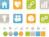 Ideas,Business,Symbol,Icon Set,People,Computer Icon,Link,Interface Icons,Heart Shape,Orange Color,Internet,Green Color,Gear,House,Computer Graphic,Gray,Chart,Digitally Generated Image,Design,Blue,Design Element,Electric Lamp,Vector,White Background,Empty,Shiny,Multi Colored,Elegance