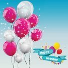 Celebration,Background,Greeting Card,Illustration,Political Party,Birthday,Backgrounds,Fun,Vector,Multi Colored