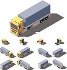 268360,Tractor,Amintas,Exercising,Car,Collection,Exercise Machine,Industry,Agricultural Machinery,Illustration,Icon Set,Infographic,Business Finance and Industry,Transportation,Trucking,Semi-Truck,Low-Poly-Modelling,Container,Isometric Projection,Tire,Cargo Container,Freight Transportation,Land Vehicle,Commercial Land Vehicle,Lifestyles,Vector,Truck,Side View,Carrying,Yellow