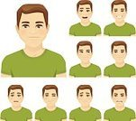 Sadness,Cartoon,Men,Depression - Sadness,Adult,Variation,Positive Emotion,Laughing,Isolated,Avatar,Awe,Contemplation,Looking,Fun,Problems,Illustration,feelings,Grimacing,Dreamlike,Vector,Furious,Surprise,Rear View,Cheerful,Sullen,Fear,Smiling,Young Adult,Emotion,Individuality,Males,Human Face,Facial Mask - Beauty Product,Emotional Stress,Set,Boys,Facial Expression,Computer Icon,Displeased,Characters,Casual Clothing,Winking,Sulking,Boredom,Collection,Shock,Happiness,Thinking
