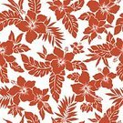 Hibiscus,Summer,Description,Plant,Hawaiian Shirt,Tropical Climate,Petal,Corsage,Flower,Tropical Bush,Floral Pattern,Vector,Flowerbed,Computer Graphic,Continuity,Cut Flowers,Blossom,Hawaiian Culture,Beauty In Nature,Material,Beauty