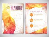 No People,Business,Design,Modern,Plan,Backgrounds,Triangle Shape,Illustration,Template,Vector,Geometric Shape,Flyer - Leaflet,Polygonal,Corporate Business,Plan,Business Finance and Industry,Orange Color,Red,White Color,Yellow,Grid