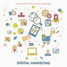 Digital Marketing,Strategy,No People,E-commerce,Line Art,Broadcasting,Equipment,Illustration,Straight,Advertisement,Setter - Dog,Browser,Announcement,Gear,Infographic,Business Finance and Industry,Technology,Communication,Business,Marketing,Speaker,Business Strategy