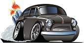 Car,Cartoon,Hot Rod,Competition,Speed,Vector,Customized,Design,Fire - Natural Phenomenon,Headlight,Flame,Style,Fun,Shiny,Restoring,Land Vehicle,Isolated,Bumper,Roadster,Transportation,Antique,Vector Cartoons,Vehicle Hood,Transportation,Isolated-Background Objects,Illustrations And Vector Art,Isolated Objects,Muscle Car