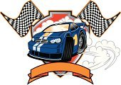 Stock Car,Car,Sports Race,Motor Racing Track,Competition,Motorsport,Sports Venue,Engine,Smoke - Physical Structure,Tire,Sport,Banner,Spinning,First Place,Speed,No People,Driving,Winning,Celebration,Front View,Success,Horizontal,Illustrations And Vector Art,White Background,Sports And Fitness,Competition,Transportation,Vector Cartoons