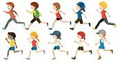 Sport,Child,Single Object,Backgrounds,Vector,Clip Art,Image,Student,Cutting,Childhood,Boys,Computer Graphic