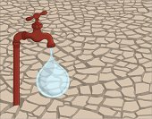 Drought,Dry,Cracked,Dirt,Faucet,Water,Desert,Land,Arid Climate,Change,Climate,Natural Disaster,Backgrounds,Clay,Drop,Ilustration,Concepts,Textured,Ideas,Leaking,Purity,Environment,Dead Plant,Slimy,Warming Up,Surface Level,Nature,Broken,Heat - Temperature,Vector,Rusty,Liquid,Global Communications,Global Business,Vector Backgrounds,Illustrations And Vector Art,Metal,Old,Concepts And Ideas,Energy,Summer,Blob,Breaking,Dark