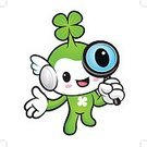 Fairy,Four-leafed,Happiness,Insignia,Design,Cartoon,Clover,Occupation,Symbol,Wishing,Working,good-fortune,Vector,Mascot,Illustration,Luck,Hope