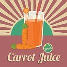 Carrot,Colors,Color Image,Art,Painted Image,Healthy Lifestyle,Vegetarian Food,Orange Color,Isolated,Symbol,Vegetable,Organic,Freshness,Food,Design Element,Drinking,Green Color,Putting Green,Drink,Illustration,Healthy Eating,Juice