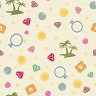 Pattern,Backgrounds,Seamless,Ornate,Luxury,Vector,Repetition,Pink Color,Multi Colored,Scrapbook,Geometric Shape,Jewelry,Gemstone,Textile,Web Page,Yellow,Blue,Pirate Theme,Island,Abstract,Treasure Chest,Golden Coin,Coin,Pirate - Criminal