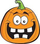 Humor,Holiday - Event,Cartoon,Jack O' Lantern,Vegetable,Illustration,Food,Clip Art,Carving - Craft Activity,Decoration,Halloween,Pumpkin,Carving - Craft Product,Fun,Vector,Smiling