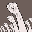 Fist,Revolution,Conflict,Protest,Fighting,Human Hand,Crowd,Politics,Punching,Riot,Anger,Justice - Concept,Rock and Roll,Furious,Power,Displeased,Cartoon,Manual Worker,Moving Up,Rivalry,Strike - Industrial Action,Drawing - Activity,Manga Style,Assistance,Government,Determination,Human Arm,Grunge,Chaos,Strength,Concepts,Ideas,Action,Motion,Ilustration,Violence,Creativity,Challenge,Modern Rock,Problems,Conquering Adversity,Arguing,Spectator,Drawing - Art Product,Warning Sign,Hitting,Danger,Celebration,Race Riot,Stop,Protection,Warning Symbol,Care,Stop Gesture,Design Element,Isolated,Design,Aggression,Desire,Inspiration,Pencil Drawing,Remote,Incentive,A Helping Hand,Chanting,Imagination,Offense,objection,Motivation,Actions,Industry,Sports And Fitness