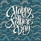 Father's Day,Holiday,Pattern,Father,Happiness,Illustration,Congratulating,Greeting,Vector,Backgrounds,Day,Celebration,Mustache,Happy Father's Day,Design,Text,Party - Social Event,Old-fashioned,Family,Typescript,Retro Styled