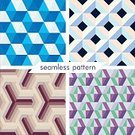 Abstract,Variation,Simplicity,No People,Computer Graphics,Polygonal,Hexagon,Geometric Shape,Collection,Illustration,Shape,Image,Computer Graphic,Seamless Pattern,Backgrounds,Vector,Design,Grid,Striped,Pattern