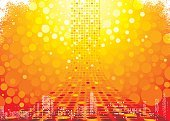 Backgrounds,Abstract,Summer,Grunge,Orange Color,Technology,Circle,Urban Scene,Red,Digitally Generated Image,Bright,Sunset,Shape,Backdrop,Shiny,Computer Graphic,Heat - Temperature,Blurred Motion,Multi-Layered Effect,Art,Photographic Effects,Composition,Vector,Glowing,No People,Fluffy,Copy Space,Horizontal,Ilustration,Technology,Design,Architecture Backgrounds,Vibrant Color,Vector Backgrounds,Technology Backgrounds,Architecture And Buildings,Wallpaper Pattern,Illustrations And Vector Art
