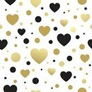 No People,Heart Shape,Illustration,Vector,Seamless Pattern,Pattern