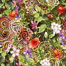 Ornate,Elegance,Embroidery,Modern,Backgrounds,Royalty,Middle Eastern Ethnicity,Arabia,Abstract,Islam,Repetition,Wealth,Seamless,Pattern,Decoration,Leaf,Luxury,Nature,India