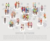 Characters,Global Communications,Illustration,People,Communication,Social Issues,Vector