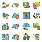 Abstract,People,Symbol,Sign,Communication,Telephone,Business,Technology,Radio,Camera - Photographic Equipment,Microphone,Drawing - Activity,Internet,Laptop,Backgrounds,Speech,E-Mail,Illustration,Vector,Photography Themes,Computer,Wireless Technology,Using Laptop,Background,Blogging,Business Finance and Industry