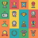 Cup,Incentive,Achievement,Symbol,Vector,Medal,Flag,Backgrounds,Sparse,Trophy,Award,Business,Admiration,Illustration,Computer Graphic,Computer,Sign,Single Object,Sport,Insignia,Success,Crown,Winning