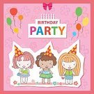 Cartoon People,Gift,Celebration Event,Cut Out,Clip Art,Love,Surprise,Fun,Event,Birthday Cake,Cute,Cheerful,Candle,Cupcake,Hat,Dessert,Decoration,Backgrounds,Greeting,Vector,Celebration,Cake,Confetti,Child,Illustration,Birthday