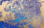Marbled Effect,Art,Backgrounds,Drawing - Art Product,Blue,Marbling,Abstract,Acrylic Painting,Illustration