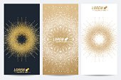 No People,Banner,Geometric Shape,Illustration,Banner - Sign,Vector,Design,Group Of Objects,Gold Colored,Pattern