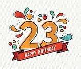 Vector,Number,Birthday Card,Greeting Card,Happiness,Cheerful,Birthday,Text,Celebration,Vibrant Color,Illustration,Flat,Anniversary,20-24 Years,Colors,Art,Congratulating,Shape,Invitation,Multi Colored,Star Shape,Teenager,Modern,Year,Party - Social Event,Young Adult,Human Age,Fun,Color Image