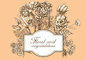 Invitation,Frame,Design,Romance,Backgrounds,Retro Styled,Flower,Blossom,Old-fashioned,Wallpaper Pattern,Label,Branch,Stem,Formalwear,Daisy,Greeting,Summer,Beauty In Nature,Nature,Botany,White,Bouquet,Black Color,Vector,Postcard,Intricacy,Victorian Style,Illustration,Ornate,Elegance,Wedding,Springtime,Floral Pattern,Image,Ornamental Garden,Leaf,Design Element,Computer Graphic,Classic,Flowerbed,Celebration,Plant