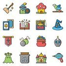 Collection,Video Game,Backgrounds,Illustration,Grilled,Book,Decoration,Fantasy,Crown,Gamepad,user,Connection,Symbol,Application Software,Food,resource,UFO,Single Object,UI,Computer Graphic,Sword,Weapon,Potion,Vector