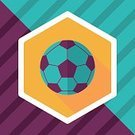 Single Object,Sphere,Backgrounds,Sport,Illustration,Equipment,Vector,Activity,Symbol,Circle,Soccer