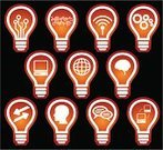 Creativity,Ideas,Light Bulb,Sharing,Symbol,Human Head,Thinking,Gear,Religious Icon,Computer,Technology,Icon Set,Computer Chip,Concepts,Globe - Man Made Object,Arrow Symbol,Equipment,Set,Earth,Connection,Computer Network,Internet,Communication,Sphere,CPU,Laptop,Technology,Talking Bubble,Vector Icons,Technology Symbols/Metaphors,Electronics,Illustrations And Vector Art