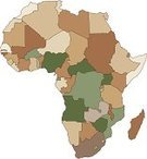 Map,Africa,Vector,Ilustration,Transportation,Travel Locations,Illustrations And Vector Art,No People