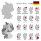 Vector,Shape,Germany,Map,West Germany,Frame,Cartography,Europe,Bavaria,Country - Geographic Area,District,Topography,Physical Geography,nation,Baden-Wurttemberg,Separation,Greeting Card,Single Line,state,republic,Isolated,Backgrounds,bundesrepublik,Travel,Federal Building,International Border,Infographic,Bremen - Germany,Intricacy,Politics,Berlin,Illustration,boroughs,Saxony,National Landmark,World Map,Collection,Set,Silhouette,Computer Graphic,template