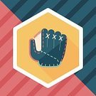 Equipment,Pinching,Illustration,Single Object,Sport,Backgrounds,Summer,Symbol,Activity,Fun,National Landmark,Sparse,Vector,Clothing,Baseball Glove