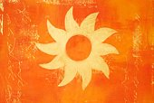 Sun,Art,Symbol,Paintings,Painted Image,Orange Color,Abstract,Creativity,Ilustration,Backgrounds,No People,Arts And Entertainment,Visual Art,Arts Backgrounds,Colors,Individuality,Gold Colored,Art Product,Acrylic Painting