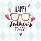Father's Day,Beard,Hat,Typescript,Straight,Father,Greeting,Decor