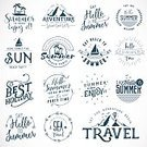 Ornate,Elegance,Enjoyment,Decoration,Collection,Vacations,Calligraphy,Beach,Label,typographic,Vector,Summer,Sea,Sign,Palm Tree,Illustration