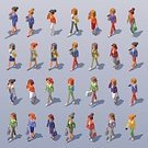 Low Poly,Technology,Community,Talk,Illustration,Togetherness,Variation,Businesswoman,Walking,Telephone,Smart Phone,Two-dimensional Shape,Communication,Computer Icon,Elegance,Young Adult,Front View,Isometric,Girls,Design,Dress,Suit,Fashion,Digitally Generated Image,Hair Bun,Side Wiev,Connection,Social Networking,Vector,Cartoon,Women,Infographic,Bag,Three Dimensional,Aerial View,People,Business,Long Hair,Professional Occupation,Clothing,Confidence,High Angle View,Color Image,Medium Group Of People,Three-dimensional Shape,Casual Clothing,Set,Short Hair