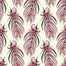 Decoration,Ornate,Doodle,Decor,Continuity,Seamless,Backgrounds,Boho,Backdrop,Elegance,Retro Styled,Fabric Swatch,Wallpaper Pattern,Repetition,Bristle - Animal Part,Feather,Isolated,Pattern,Illustration