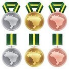 Tied Bow,Sport,World Map,Computer Icon,Podium,Second Place,Illustration,Bronze Medal,Gold Medal,Third Place,Copper,Silver - Metal,Rio de Janeiro,Silver Medal,Vector,Material,The Olympic Games,Medal,Gold,Map,2016,Brazil