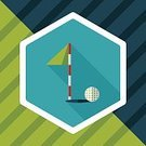 Tee,Sport,Teeing Off,Golf-equipment,Vector,Illustration,Copy Space,Nature,Outdoors,Grass,Practicing,Residential District,Hobbies,Golf