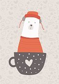 Child,268299,Cold Temperature,Romance,Innocence,Retro Styled,Arctic,Coffee - Drink,Cup,Background,Bear,Love,Animal,Cute,Painted Image,Ornate,Teddy Bear,Cartoon,1187,Illustration,Polar Bear,Tea - Hot Drink,Animal Markings,Poster,Heart Shape,Decoration,Boredom,Backgrounds,Young at Heart,Modern,Print,Design,Orange Color,Blouse,Striped,Beige,Clothing,Pattern,Gray,White Color,Hat,Spotted