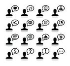 Facial Expression,Asking,Surprise,Currency,Businessman,Business,user,Communication,Speech Bubble,Avatar,Men