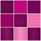 Pattern,Set,Magenta,Textured Effect,Shape,Seamless,Striped,Textile,Vector,Colors,Symmetry,Geometric Shape,Decoration,Computer,Design,Part Of,Old-fashioned,Fashion,Glitter,Bright,Square Shape,Retro Styled,Style,Tablecloth,Circle,Triangle Shape,Ornate,Computer Graphic,Block,Business,Pink Color,Beautiful,Backgrounds,Abstract
