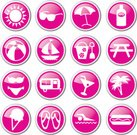 Symbol,Icon Set,Summer,Picnic,Beach,Vacations,Sunglasses,Pink Color,Recreational Pursuit,Leisure Activity,Ice Cream,Heat - Temperature,Summer,Holidays And Celebrations,Sports And Fitness,Nature
