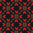 Modern,Characters,Computer Graphic,Symbol,Cultures,Red,Concepts,Vector,East,Abstract,Cheerful,Textile,Chinese New Year,Silhouette,Backgrounds,Illustration,Painted Image,Chinese Culture,New Year's Day,Wallpaper Pattern,Wrapping Paper,Pattern,Greeting,East Asian Culture,Floral Pattern,Bird,Cockerel,Rooster,Seamless,Animal,China - East Asia,Zoo,Style,Creativity,Backdrop,Astrology Sign